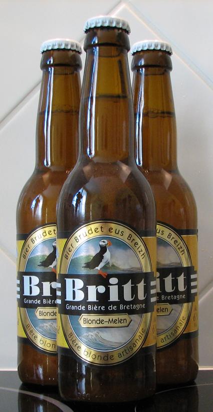 Britt Beer Bottles