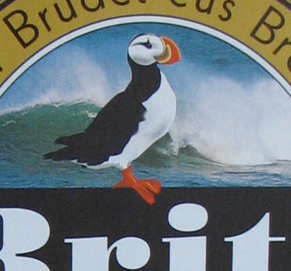 Britt Beer Label