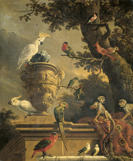 Melchior d'Hondecoeter's The Menagerie