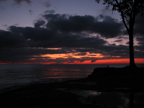 SUNRISE at Marblehead Lighthouse State Park