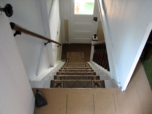 Old cottage stairs