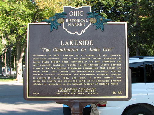 Lakeside Historical Marker
