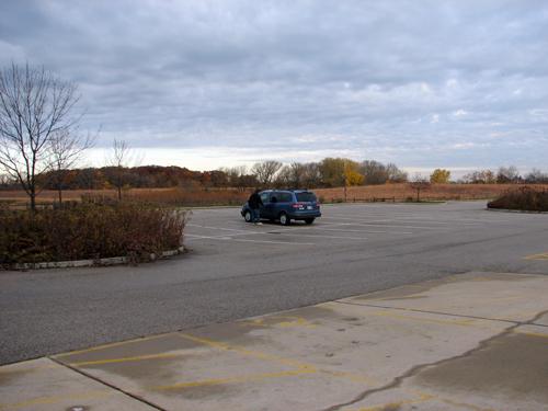 Volo Bog Parking Lot