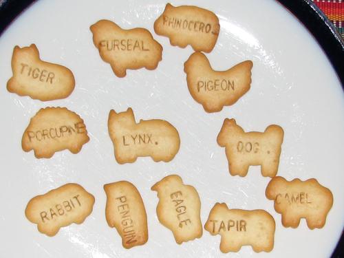 unusual animal crackers