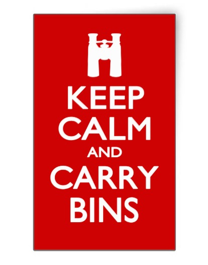 Keep Calm and Carry Bins