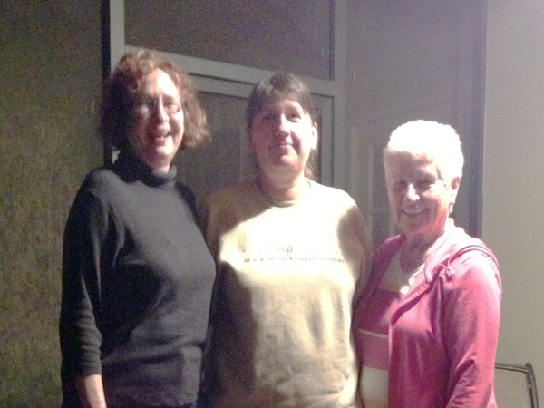 Laurie, Amy, Anne